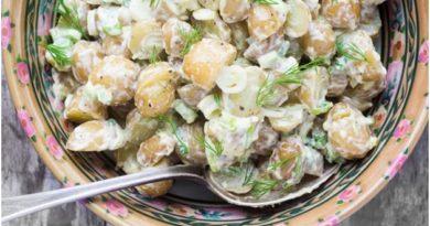 Простой и очень вкусный рецепт салата