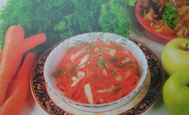 Сал. из морк.ябл. хрена