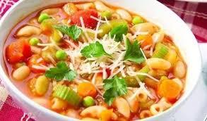 """Вкусные и простые летние супы. Рецепт приготовления итальянского  супа """"Минестроне"""" с фото"""