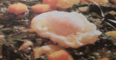 Густой мясной суп со шпинатом с картофелем и яйцом - Простой и вкусный летний суп