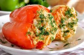Рецепт перца фаршированного овощами