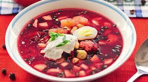 Классический рецепт приготовления холодного красного свекольника