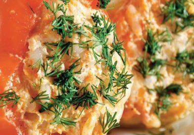 Рецепт пошагового приготовления вкусного болгарского перца фаршированного овощами