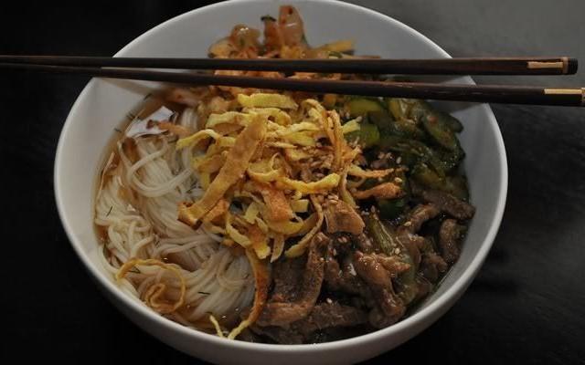 корейский суп Кукси