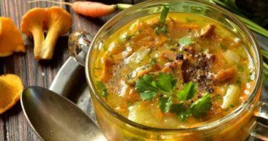 Вкусные картофельные супы по-немецки с грибами и стручковой фасолью