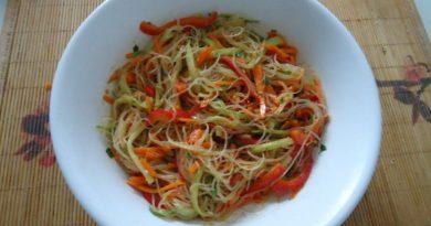 Простые и вкусные салаты. Рецепты с фото