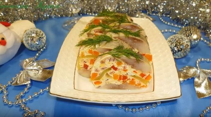 закуски на праздник из рыбы
