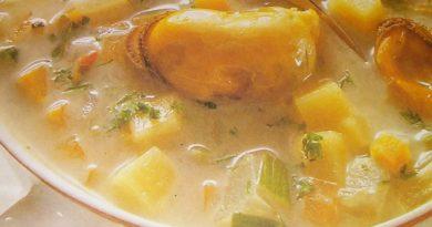 Как приготовить вкусный суп. Рецепт супа с морепродуктами и сливками