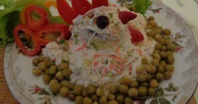 Салат петушок на новый год 2017 с фото. Пошаговый рецепт приготовления к Новогоднему столу