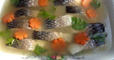 Рецепты заливной рыбы — готовим  вкусные рыбные блюда на праздничный стол