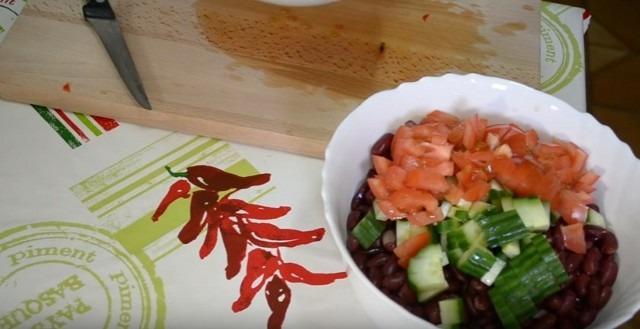 соед. фасоль и овощи