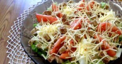 14 Рецептов салата цезарь с фото пошагово