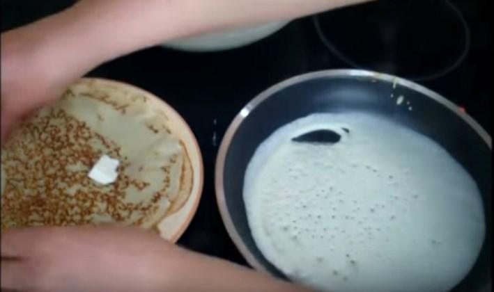4 Рецепта тонких блинов на кефире с дырочками  и 3 - блинных торта