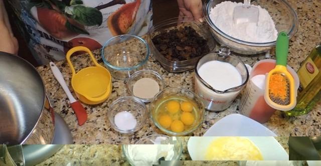 Рецепт пасхальных куличей