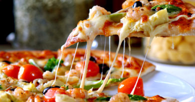 Пицца. 5 рецептов приготовления вкусной пиццы