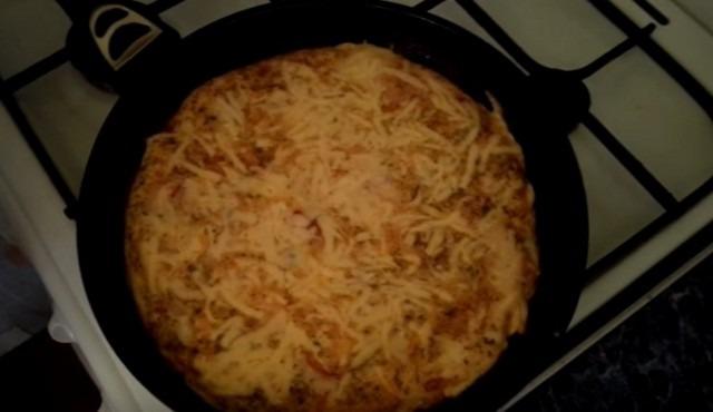 Рецепт омлета на сковороде