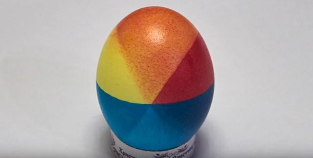 Как покрасить пасхальные яйца