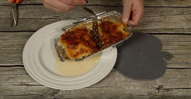 Мясо по-французски с заправкой