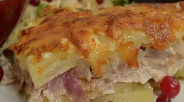 Мясо по французски видео