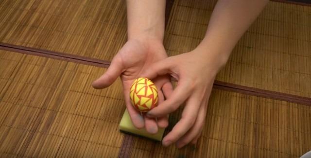 Мозаичное пасхальное яйцо