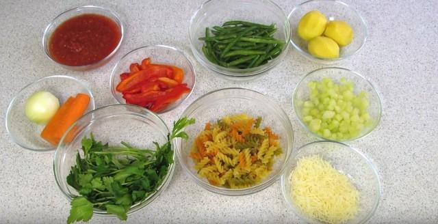 Напишите рецепты супов