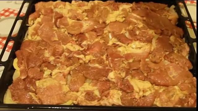 Рецепт мяса по-французски