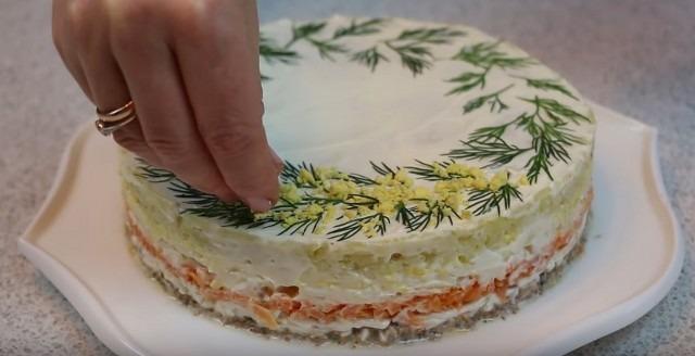 Салат мимоза классический