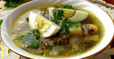 Щавель-суп
