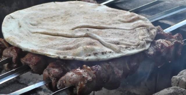 Вкусный шашлык с курдюком