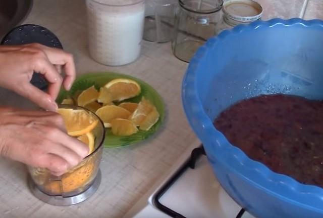 Варенье из крыжовника с апельсинами