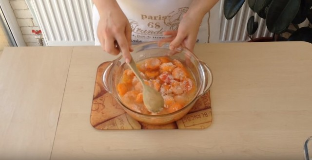 Янтарное варенье из абрикосов