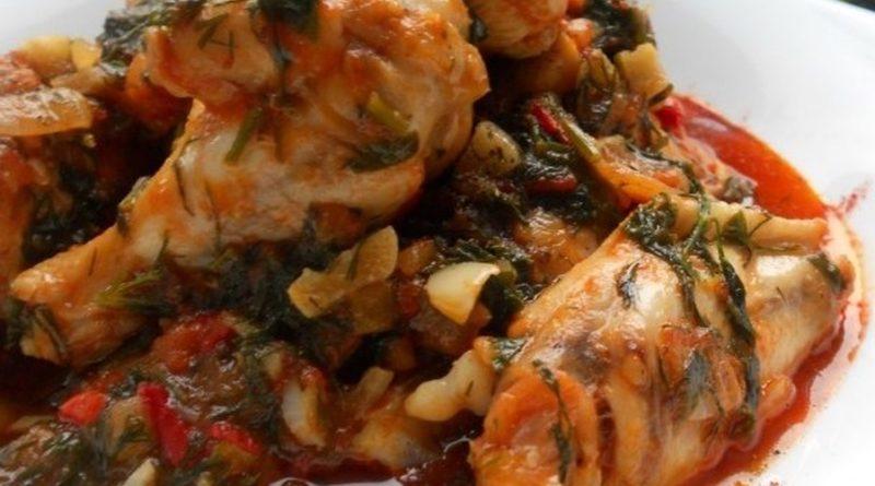 Чахохбили из курицы. Простой и очень вкусный рецепт чахохбили из курицы + видео