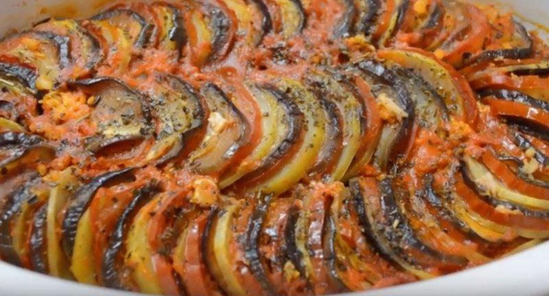 Рататуй овощное рагу