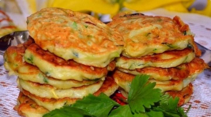 5 рецептов оладьев из кабачков