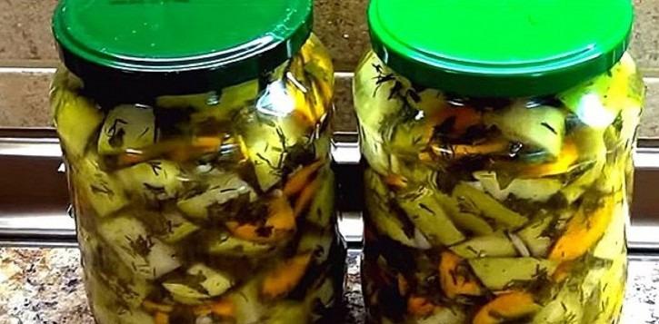 Заготовки из кабачков на зиму в домашних условиях