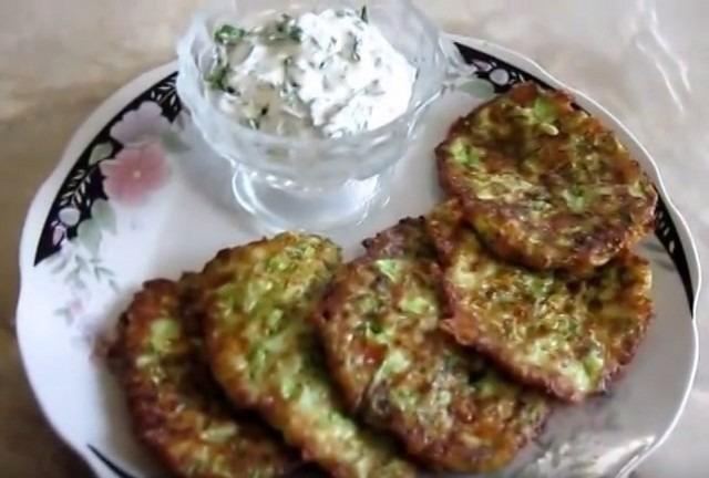 оладьи из кабачков лучшие рецепты