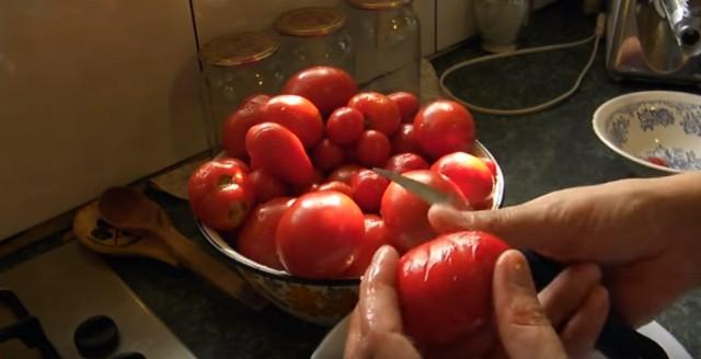 сморщенный помидор