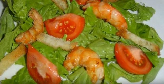 собрали салат