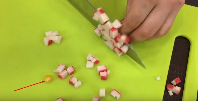 нарезаем палочки
