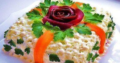 Салат оливье - Праздничные классические рецепты очень вкусных салатов к Новому году