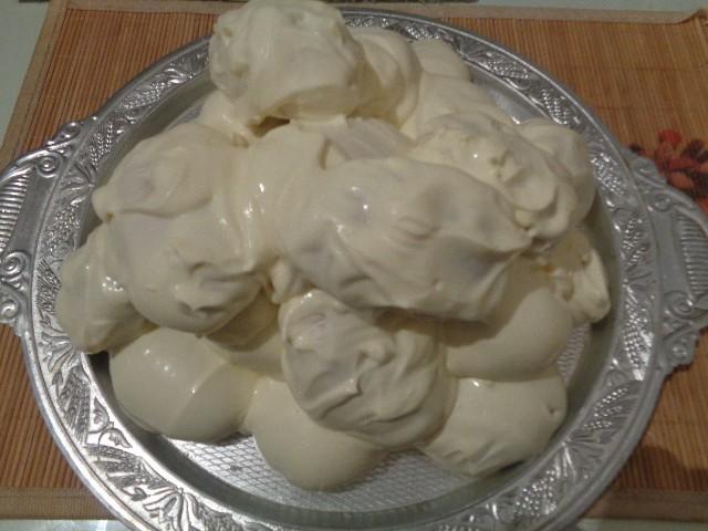 Пирожки снежки гол