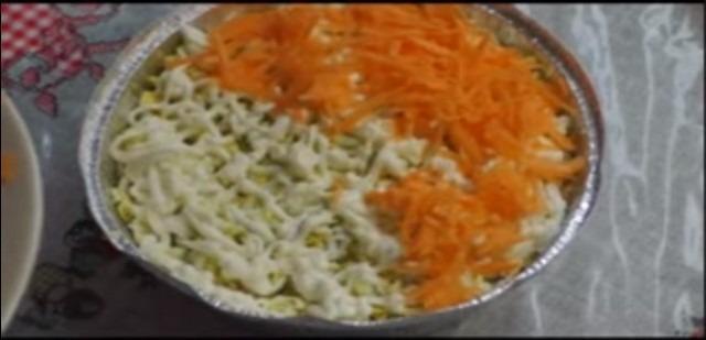 завершающий слой морковь