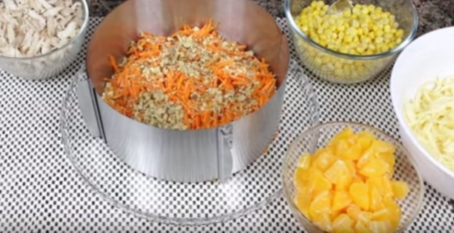 морковь орехи