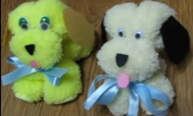 две собачки лицом