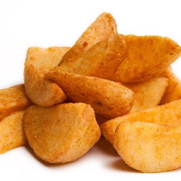 Запеченые картофельные дольки