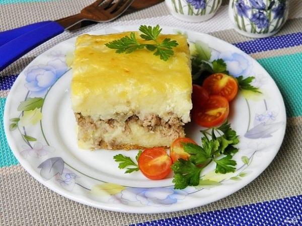 Рецепты картофельной запеканки