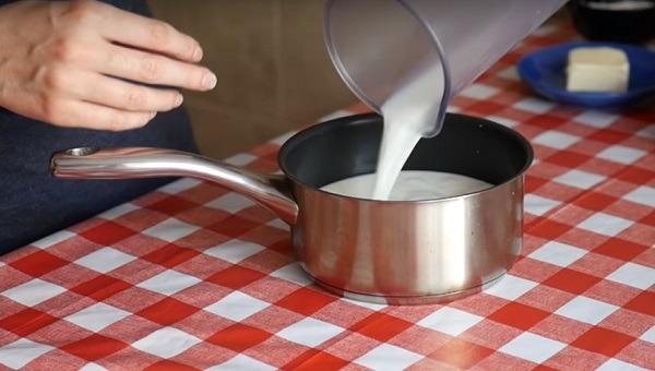 нагреваем молоко