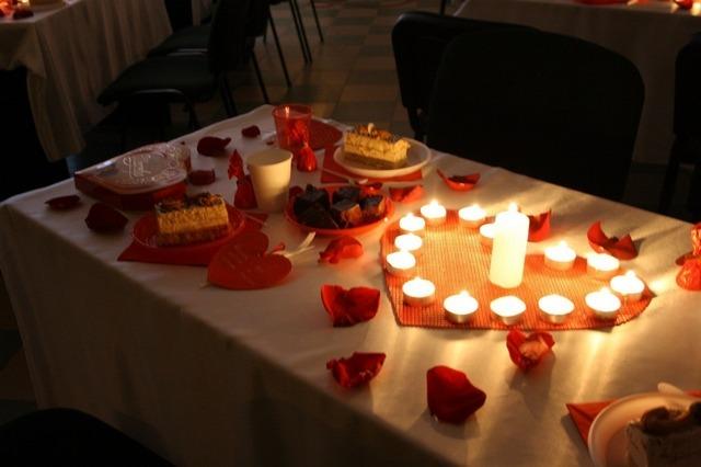 свечи в виде сердца