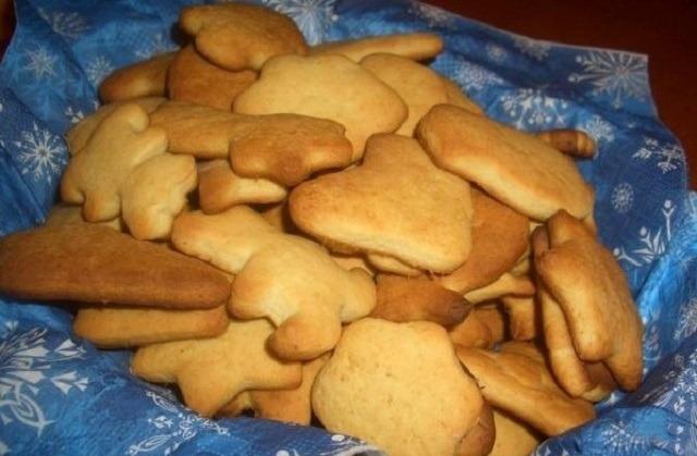 Печенье с имбирем и медом
