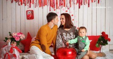 Как провести День Влюбленных с мужем и детьми? Идеи и картинки